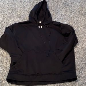 EUC Under Armour fleece lined hoodie